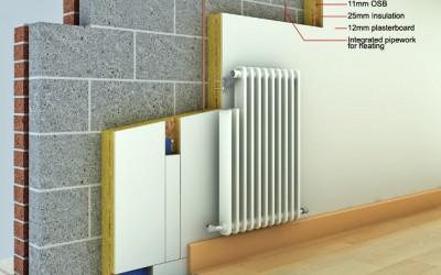 Calefaccíon por radiadores mediante tubería de PPR